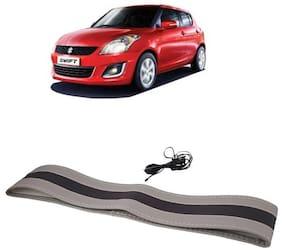 Swift Black&Grey Steering Cover