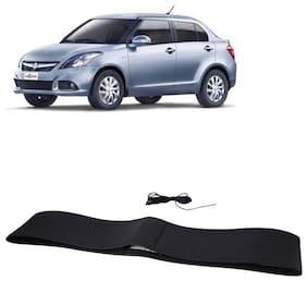 Swift DZire Black Steering Cover