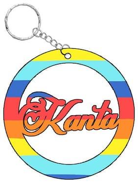 SY Gifts Kanta Rainbow  Name Keychain