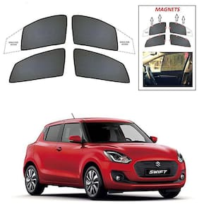 Synthetic Car Sun Shades for MARUTI SWIFT 2018
