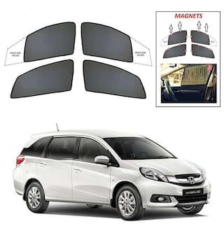 Buy Synthetic Car Sun Shades For Honda Mobilio Online At Low Prices