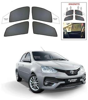 Synthetic Car Sun Shades for Toyota Etios