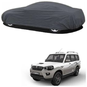 Synthetic Waterproof RME CAR Body Cover for Scorpio 2018