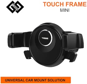 TAGG Touch Frame Mini Air Vent Car Mobile Holder || Single Press Mount Solution || Universal Solution for Smartphones and Other Devices || 360 Degrees Rotation [[NEW RELEASE]]