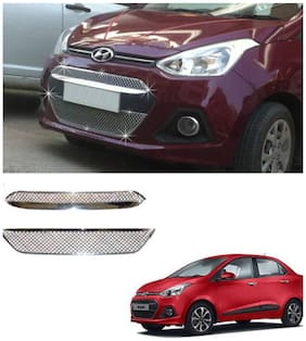 Takecare Front Chrome Grill For Hyundai Xcent