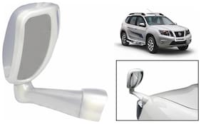 Takecare Front Fender Suv Wide Angle Mirror White For Nissan Terrano (1 Piece)