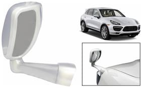 Takecare Front Fender Suv Wide Angle Mirror White For Bmw X6 (1 Piece)