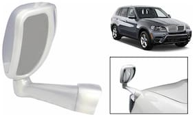 Takecare Front Fender Suv Wide Angle Mirror White For Bmw X1 (1 Piece)