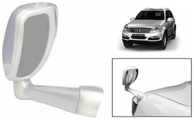 Takecare Front Fender Suv Wide Angle Mirror White For Nissan Evalia (1 Piece)