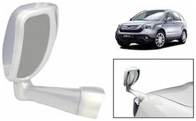 Takecare Front Fender Suv Wide Angle Mirror White For Honda Crv (1 Piece)