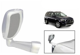 Takecare Front Fender Suv Wide Angle Mirror White For Ford Ikon (1 Piece)