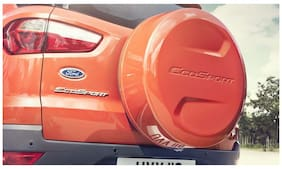 Takecare Spare Wheel Cover For Ford Ecosport Mars Red