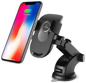 Tantra TWIST Smart Universal Phone Holder, Mobile Stand for Car (Car Mount) with Quick One Touch Technology (Expandable & Rotatable) with Double Shift Locking for Windscreen, Dashboard & Table Desk.