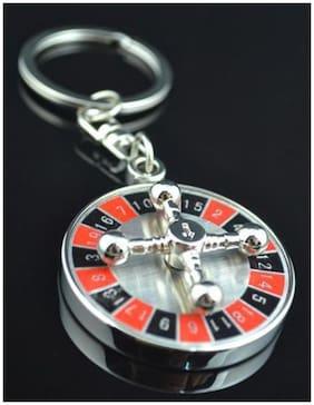 Tanu Electronics 360 Rotating Casino Keychain