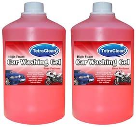 Tetra Clean High Foam Car Shampoo Car Washing Liquid (2 L)