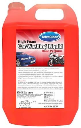 Tetra Clean High Foam Car Shampoo Car Washing Liquid (5 L)
