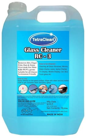 TetraClean Glass Liquid Vehicle Glass Cleaner (5 L)
