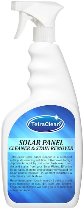 TetraClean Solar Panel Cleaner and Stain Remover in Spray Bottle (500 ml)