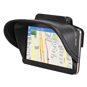 TFY Universal GPS Navigation Sun Shade Visor for 4.3 - 5 Inch Vehicle GPS