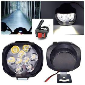 THE ONE CUSTOM 9 LED 15w Motorcycle car headlight LED Driving Fog Spot Light (Set of 2)