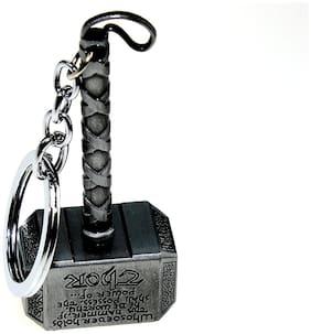 Thor Hammer Marvel Avengers Superhero Metal Ring Key Chain