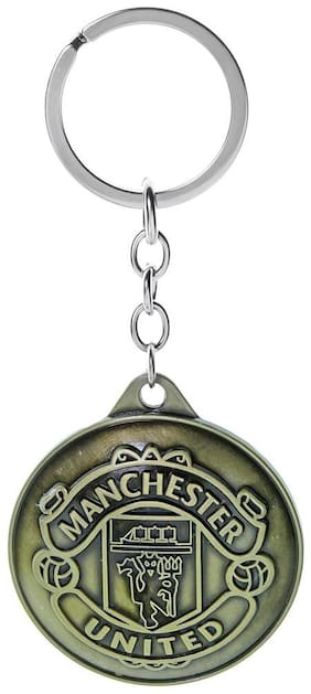 Three Shades Manchester United Key Chain for Football Lovers in Antique Design