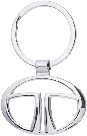 Three Shades Tata Car Logo Keychain