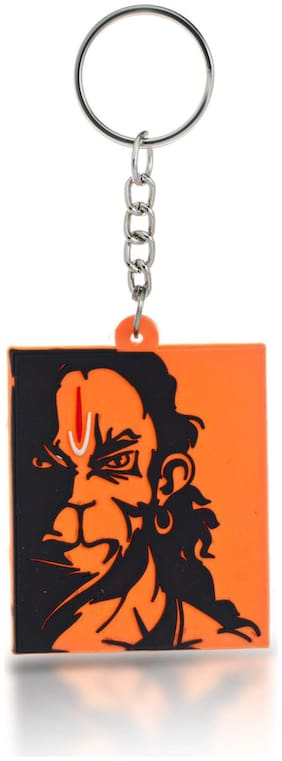 Three Shades Angry Hanuman Ji Keychain for Devotees