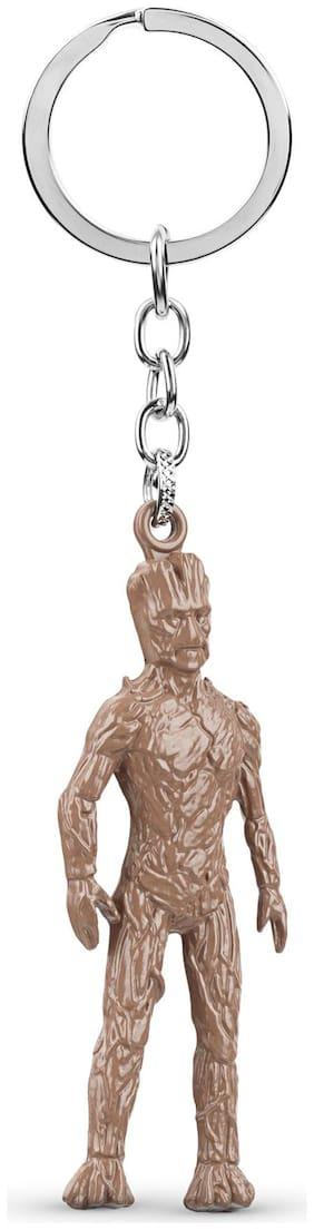 Three Shades I am Groot Marvel Avengers Infinity War Guardians of The Galaxy Superhero Metal Keychain Keyring