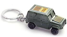 Three Shades PUBG Jeep Metal Key Chain Wheel Drive Key Chain