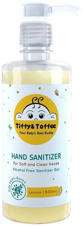 Tiffy & Toffee Hygiene Sanitizer gel Alcohol Free, Transparent, 500, 1 count