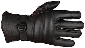 TLN 1 Dazzling Winter Gloves/Bike Gloves/Biker Gloves/Motorcycle/ Bike Racing/Riding/ Gym/Fitness / Full Fingers Gloves For Men - Black