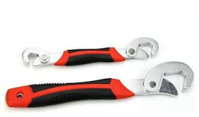 Tools Bro Snap & Grip Double Sided Adjustable Wrench Set  (Pack of 2)