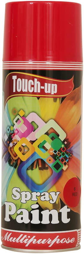 Touch-up Aerosol Spray Paint - Red;Ready-to-Use Car;Bike;Spray Painting;Home & Furniture Spray Paint - 400 ml