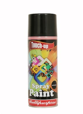 Touch-up Aerosol Spray Paint - Matte Black;Ready-to-Use Car;Bike;Spray Painting;Home & Furniture Spray Paint - 400 ml