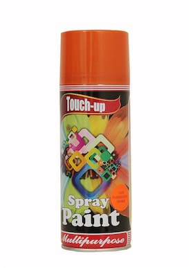Touch-up Aerosol Spray Paint - Fluorescent Orange;Ready-to-Use Car;Bike;Spray Painting;Home & Furniture Spray Paint - 400 ml