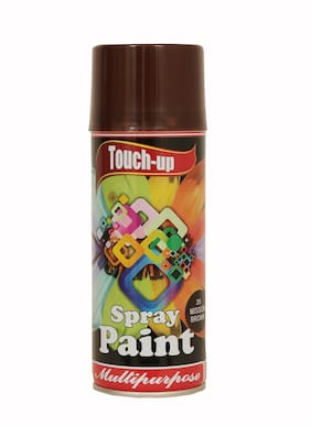 Touch-up Aerosol Spray Paint - Mission Brown;Ready-to-Use Car;Bike;Spray Painting;Home & Furniture Spray Paint - 400 ml