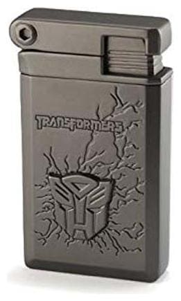 Transformer Cigar Cigarette Butane Red Jet Flame Pocket Lighter  (Silver)