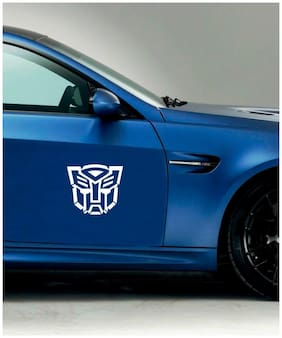 Rawpockets Car Sticker  ' Transformer '