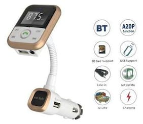 TRIANGLE ANT Turbo Car Charger (Gold)