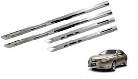 Trigcars Chevrolet Optra New Car Steel Chrome Side Beading