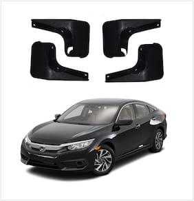 Trigcars Honda Civic Car Mudflap Set Of 4