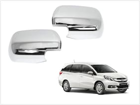 Trigcars Honda Mobilio Old Car Side Mirrors Chrome Plated Cover Set Of 2
