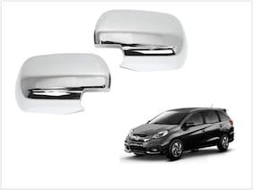 Trigcars Honda Mobilio Car Side Mirrors Chrome Plated Cover Set Of 2