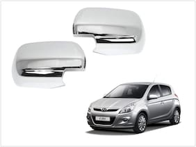 Trigcars Hyundai i20 Old Car Side Mirrors Chrome Plated Cover Set Of 2