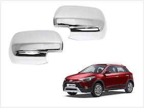 Trigcars Hyundai i20 Active Car Side Mirrors Chrome Plated Cover Set Of 2