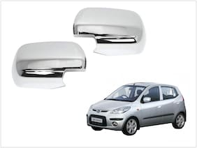 Trigcars Hyundai i10 Old Car Side Mirrors Chrome Plated Cover Set Of 2