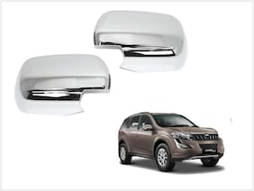 Trigcars Mahindra XUV 500 New Car Side Mirrors Chrome Plated Cover Set Of 2