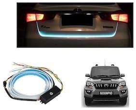 Trigcars Mahindra Scorpio Car Tailgate LED Strip Light Dicky Led