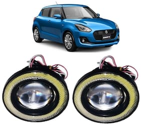 Trigcars Maruti Suzuki Swift 2018 Car Angel Eye Fog Light
